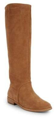 Daley Suede Knee-High Boots