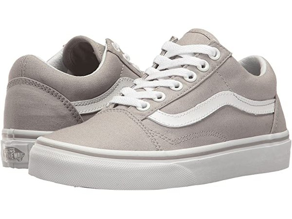 Vans Old Skool™ light grey| Zappos.com