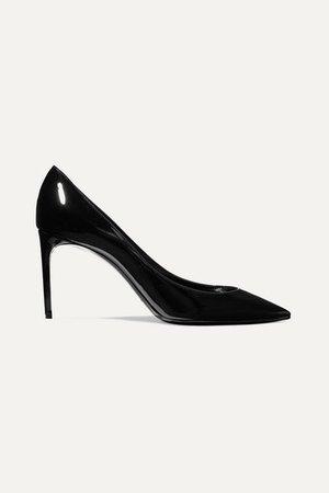 Zoe Patent-leather Pumps - Black