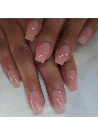 french ombré acrylics