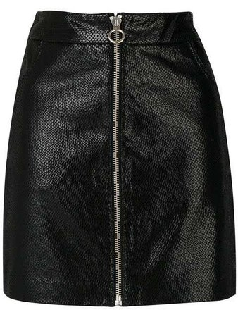 Zoe Karssen A-line Zip Skirt $358 - Buy AW17 Online - Fast Delivery, Price