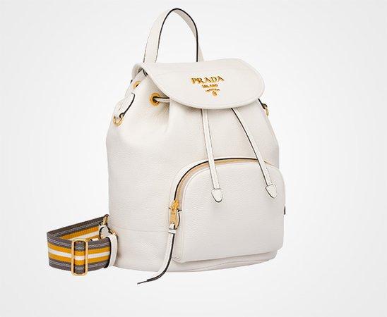 Leather backpack | Prada