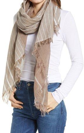 Farrah Cotton & Linen Scarf