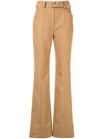 Proenza Schouler Pantalon De Costume Évasé à Taille Haute - Farfetch