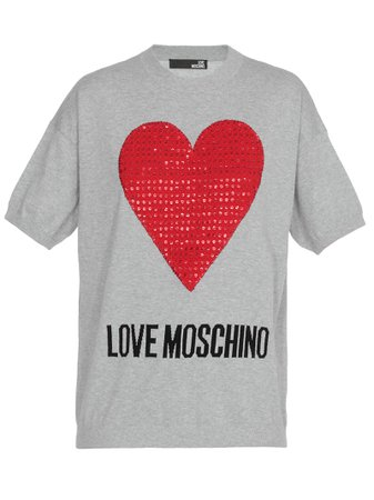 Love Moschino Cotton Sweater