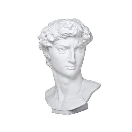 Eichholtz David Head Sculpture | Our Home Decor | Sculpture, Vaporwave art, Stone statues