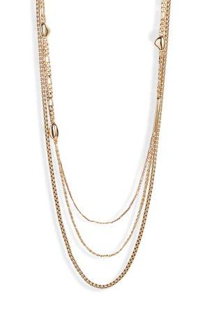 Jenny Bird Salento Layered Chain Link Necklace | Nordstrom