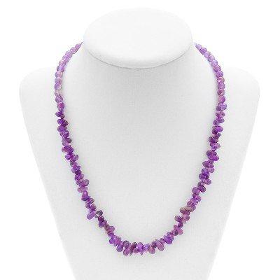 Amethyst Gemstone Necklace | Mystic Self LLC