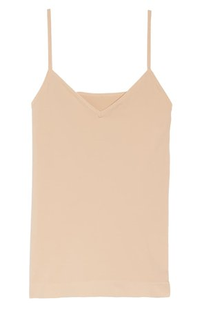 Halogen® Seamless Two-Way Camisole (Any 2 for $49) | Nordstrom