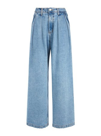 KATE DEEP PLEAT JEAN in NOT YOURS | Alice and Olivia