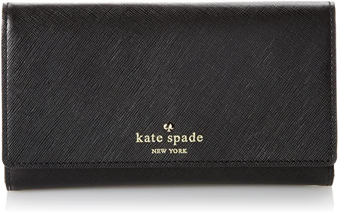 Amazon.com: Kate Spade New York Cherry Lane Amherst Wallet Black One Size: Shoes