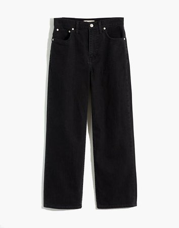 Slim Wide-Leg Jeans in Lunar Wash