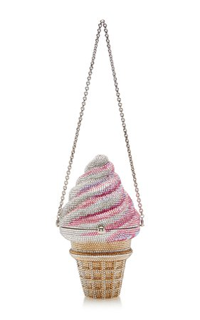 Ice Cream Cone Clutch by Judith Leiber Couture | Moda Operandi