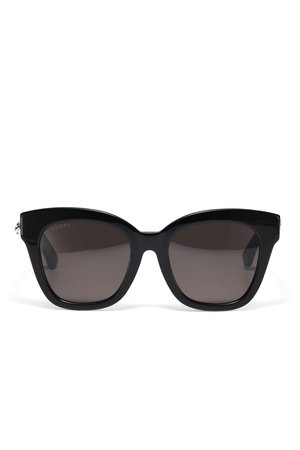 Black Square Sunglasses by Gucci