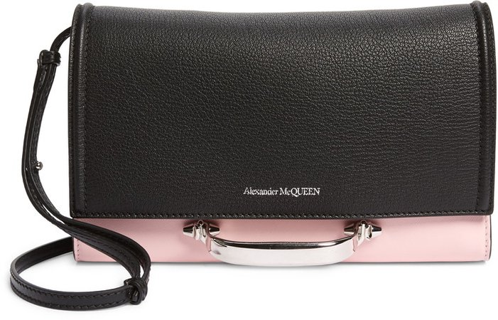 Small The Story Colorblock Leather Crossbody Bag