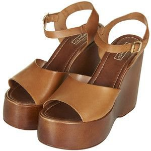 Toyshop wallflower wedge sandal