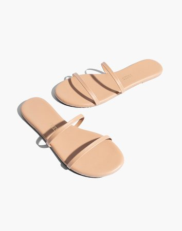 TKEES Gemma II Leather Sandals