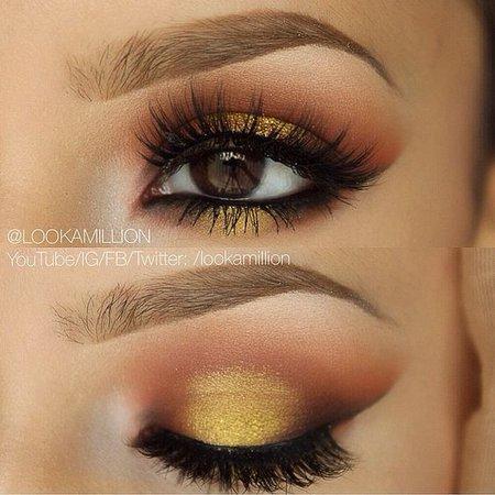 Yellow/Gold Eyeshadow