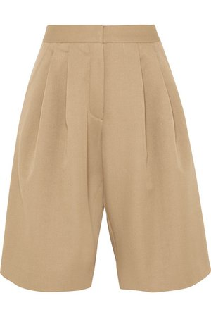 OCHI | Pleated tencel-blend shorts | NET-A-PORTER.COM