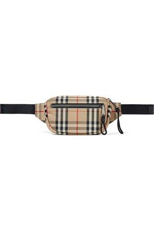 Burberry | Checked canvas belt bag | NET-A-PORTER.COM