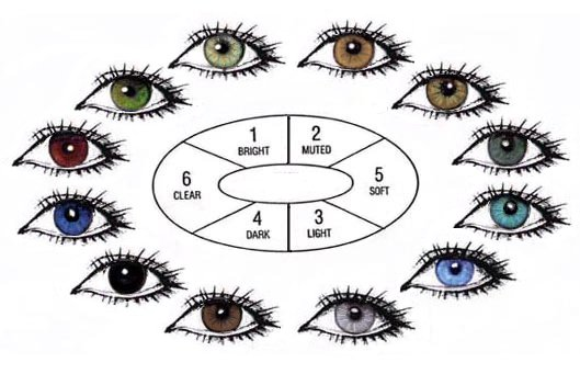 Eye Colour Chart