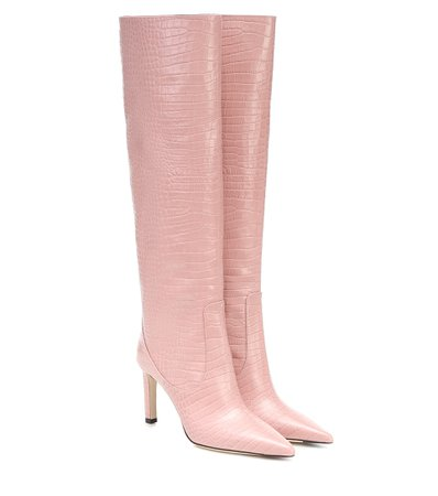 Mavis 85 Leather Knee-High Boots - Jimmy Choo | Mytheresa