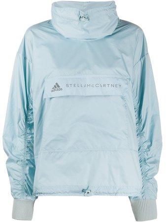 Adidas By Stella McCartney Jaqueta Leve Com Estampa De Logo - Farfetch
