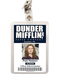 Pam beesly name tag - Google Search