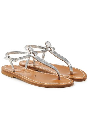 Picon Metallic Leather Sandals Gr. IT 40