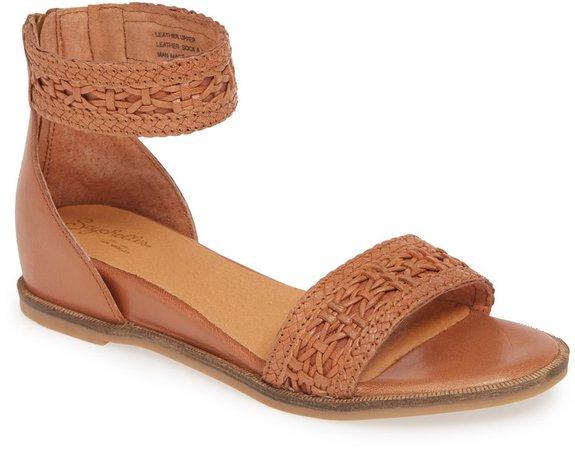 Woven Wedge Sandal