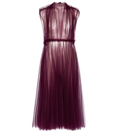 Exclusive To Mytheresa – Alix Tulle Midi Dress | Khaite - Mytheresa