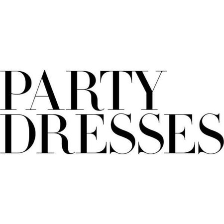 party dress words - Google Search