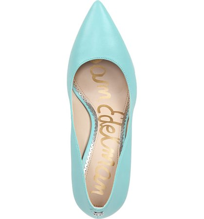 Sam Edelman Hazel Pointy Toe Pump (Women) Blue