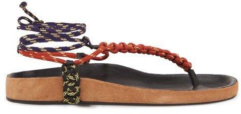 Loreco Rope Sandals - Tan Multi