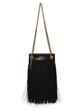 Tassel Detail Shoulder Bag
