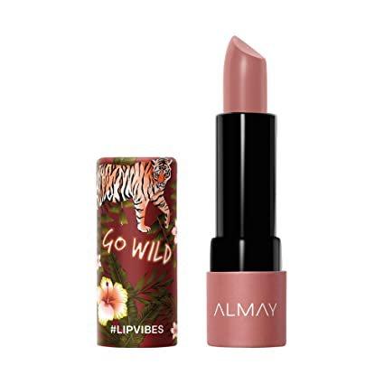 Amazon.com : Almay Lip Vibes, Go Wild, matte lipstick, 1 Count, 0.14 Ounce : Beauty