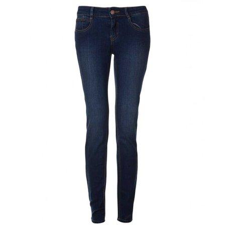 Dark Navy Blue Skinny Jeans Women