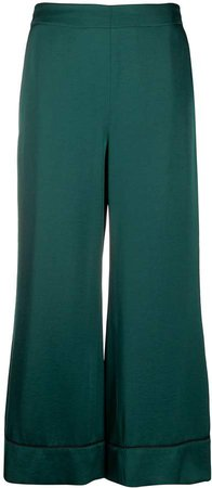 Blanca Vita cropped wide leg trousers