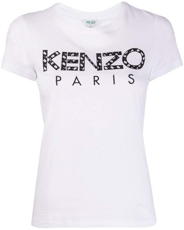 embroidered logo short-sleeve T-shirt