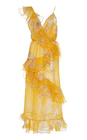 Johanna Ortiz Sunlight Silk Organza Dress