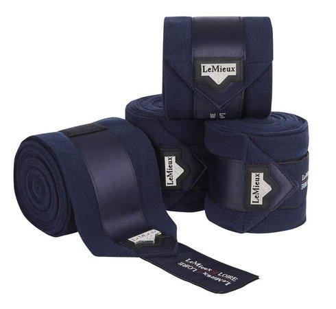 LeMieux Loire Polo Bandages 4 Pack - Navy – Dressage Performance