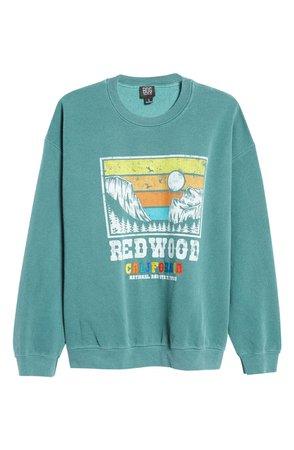 Women's Redwood Cali Crewneck Sweatshirt | Nordstrom