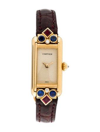 Cartier Tank Allongée Watch - Strap - CRT41645 | The RealReal