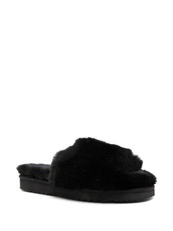 Apparis Jasmine faux-fur slippers - FARFETCH