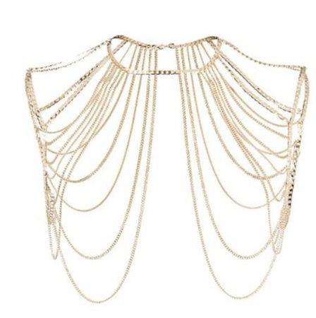 jewels, gold chain, body chain, piercing, chain, body, body chain, belly, belly chain, belly buttom, navel, belly piercing, jewelry, accessories, accessory - Wheretoget