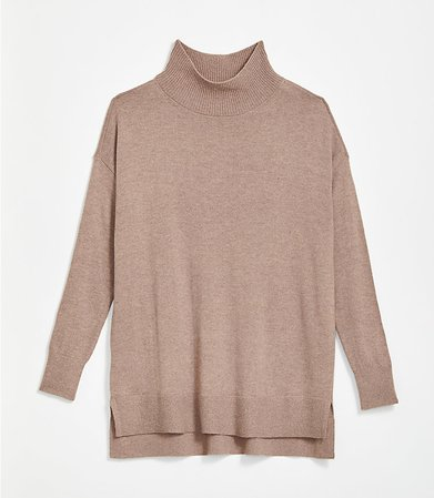Hi-Lo Tunic Sweater | LOFT