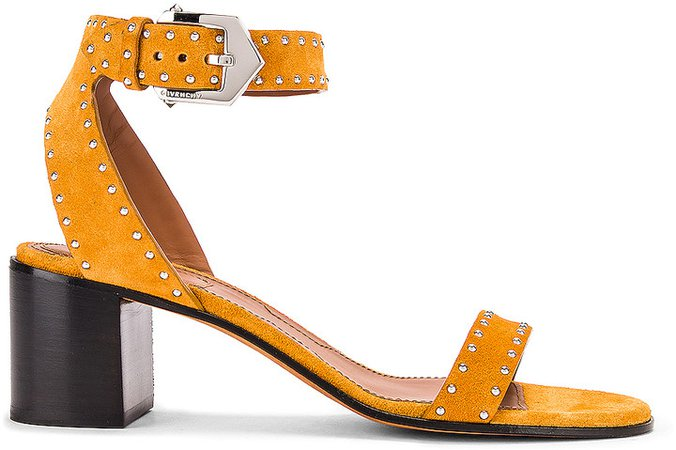 Elegant Stud Sandals in Sienna | FWRD