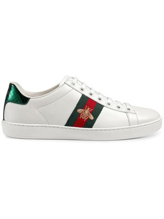 Gucci Ace Embroidered low-top Sneaker - Farfetch