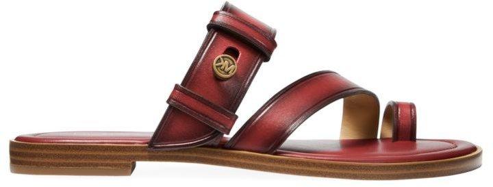 Brayden Flat Leather Sandals