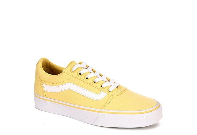 Yellow Vans Ward Women's Low Top Sneaker | Rack Room Shoes